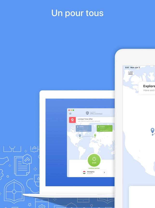 VPN Unlimited - Fast & Private Capture d'écran