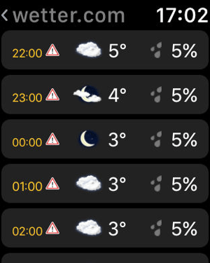 ‎wetter.com Screenshot
