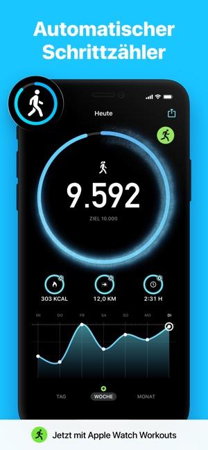 Stepsapp Schrittzahler Im App Store