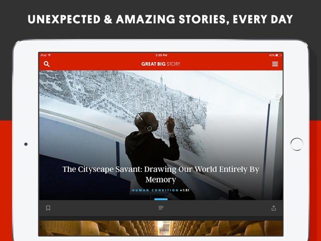 Great Big Story Screenshot