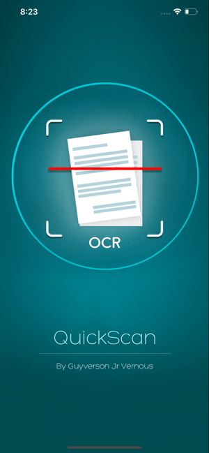 ‎QuickScan: OCR Scanner Screenshot