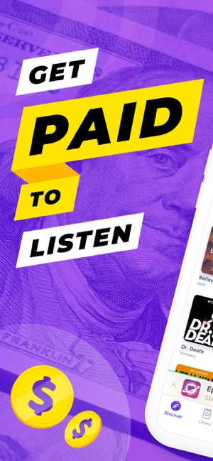 Podcoin - Podcasts That Pay Screenshot