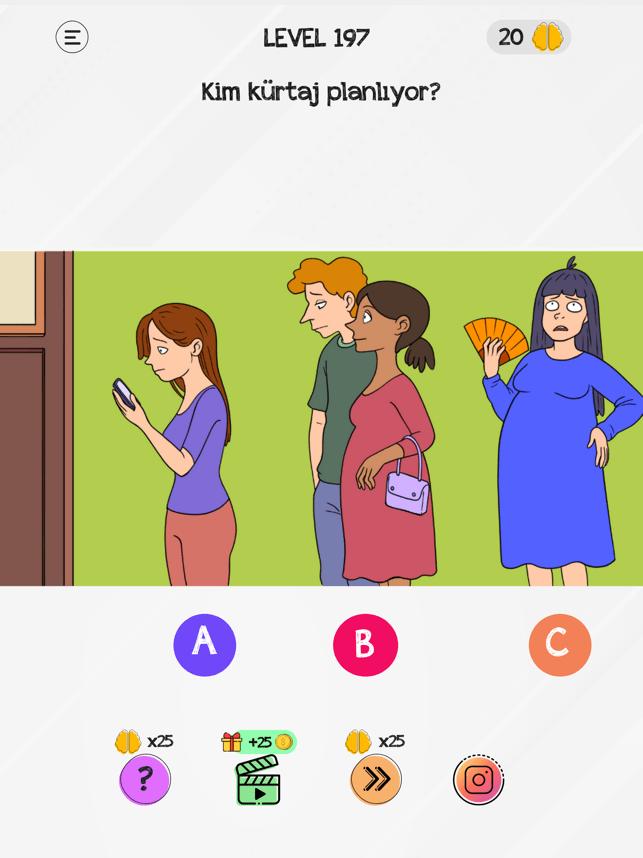 Braindom: Beyin Oyun Testi Screenshot