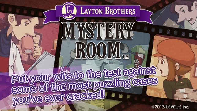 LAYTON BROTHERS MYSTERY ROOM Screenshot