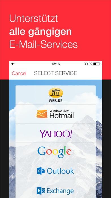 myMail – E-Mail Programm Screenshot