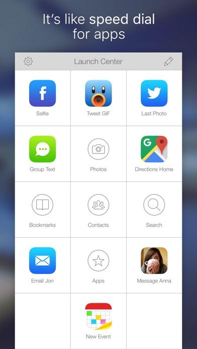 Launch Center Pro Screenshot