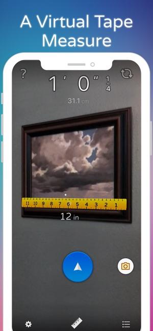 AirMeasure - AR Tape & Ruler Screenshot