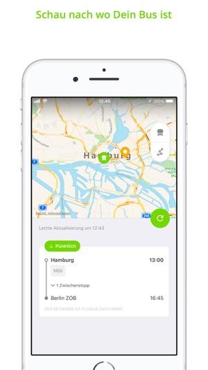 FlixBus: Fernbus durch Europa Screenshot