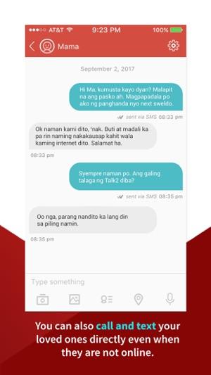 Talk2 Philippines Capture d'écran