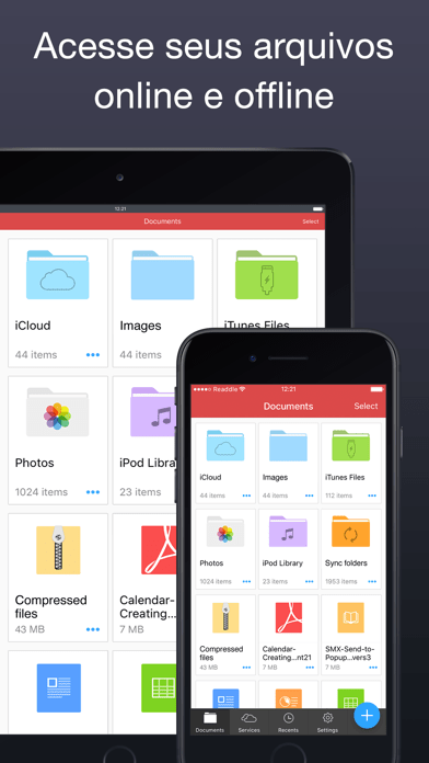 Screenshot do app PDF Expert da Readdle