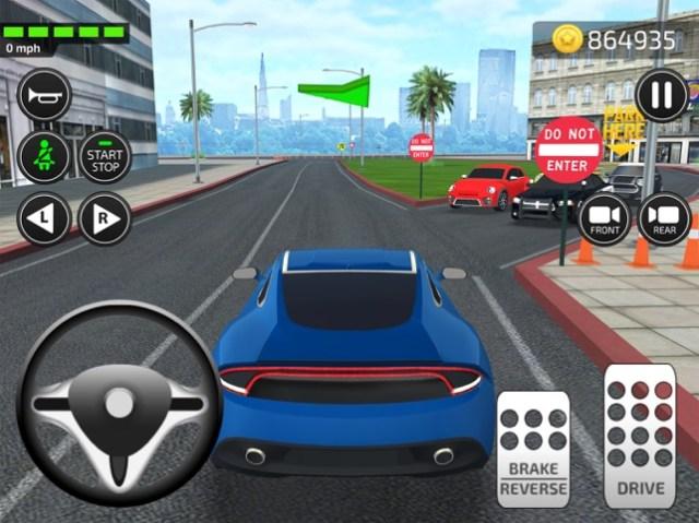 Driving Academy 2018 Simulator Screenshot