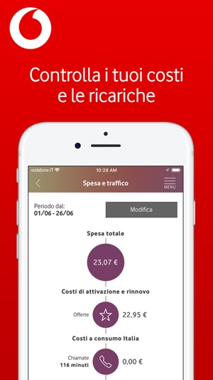 My Vodafone Italia Screenshot
