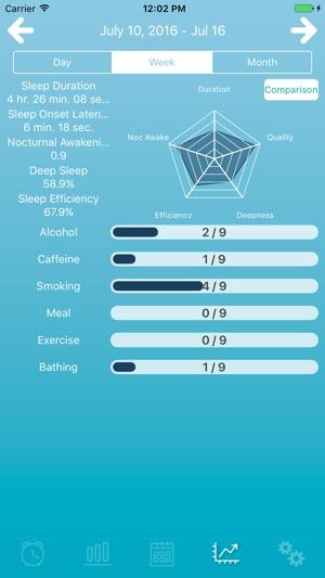 airweave sleep analysis Screenshot