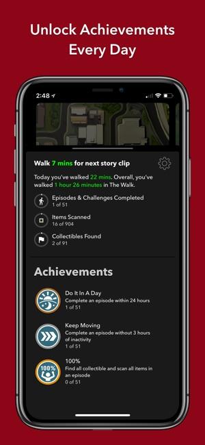 The Walk: Fitness Tracker Game Screenshot