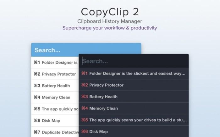 CopyClip 2 - Clipboard Manager Screenshot 01 9nlsbvn