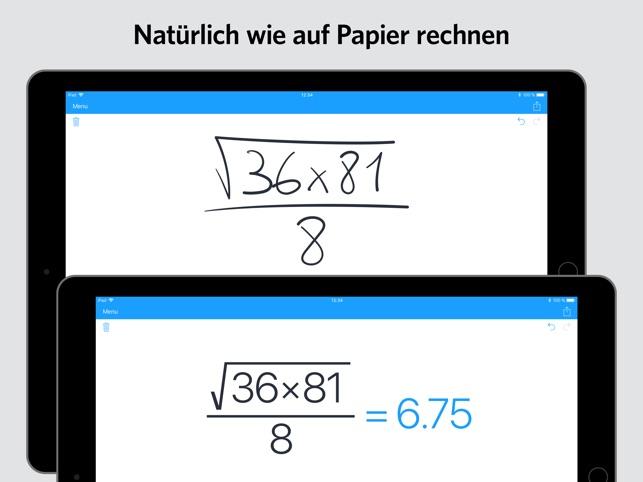 MyScript Calculator Screenshot