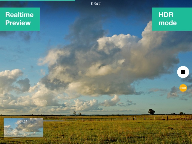 Time Lapse with HDR Screenshot