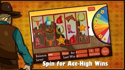 Awesome Wild West Mega Slots Casino - PLUS Mini Games - Poker, Blackjack, Bingo, Roulette 1.1 IOS