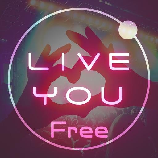 好きな曲をライブに-LIVE YOU無料版 音楽プレイヤー