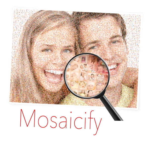 Mosaicify - Create mosaic photo from thousand images