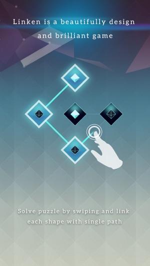 Linken - A Minimalist Line Puzzle Screenshot