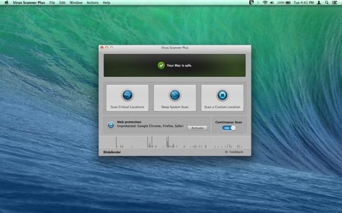Virus Scanner Plus Screenshot 01 1d394ocn