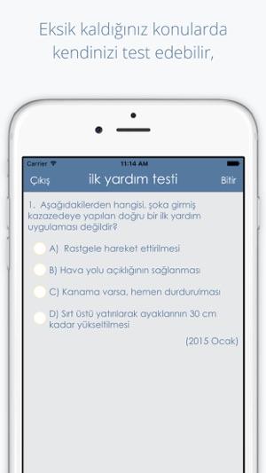 Ücretsiz Ehliyet Sınavları Çıkmış Sorular Screenshot