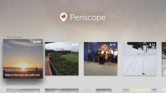 ‎Periscope Live Video Streaming Screenshot