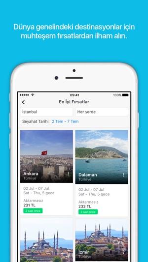 Skyscanner: Uçak bileti, otel Screenshot