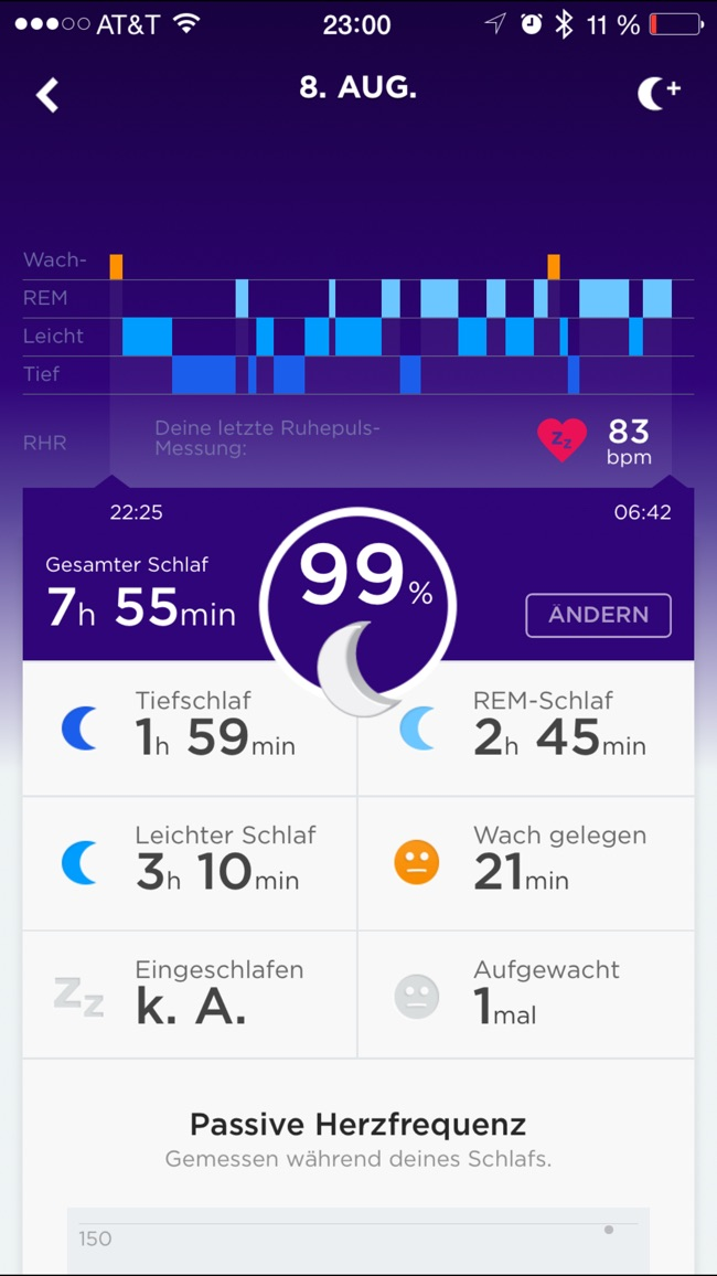 UP® –  Smart Coach für Gesundheit Screenshot