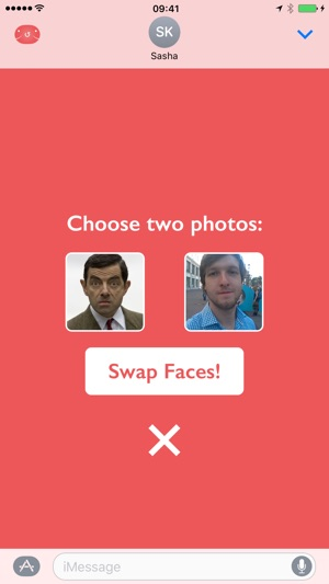 Swapped - face swap with friends and celebrities Screenshot