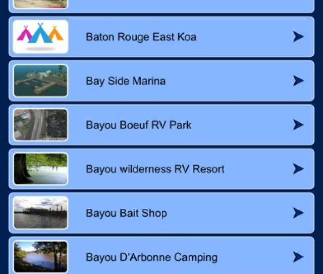 Louisiana Campgrounds Rv Parks Louisiana Campgrounds Rv Parks