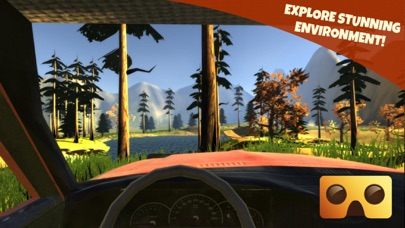Off Road Virtual Reality Game   VR Game For Google Cardboard   App         Screenshot  7 for Off Road Virtual Reality Game   VR Game For Google  Cardboard