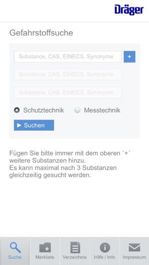 Dräger VOICE Screenshot