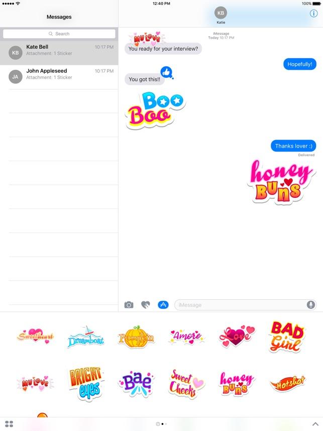 Honey Stickers Screenshot