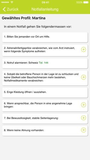 AllergiePass Screenshot