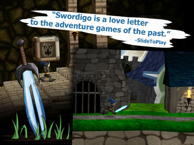 ‎Swordigo Screenshot