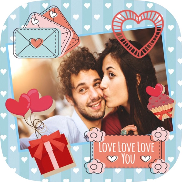 Love photo frames - edit and create cards and post