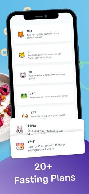 YAZIO Fasting & Food Tracker Screenshot