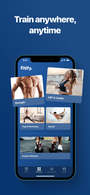 ‎Fitify: Fitness & Home Workout Screenshot