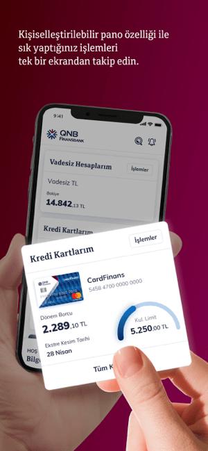 QNB Finansbank Screenshot