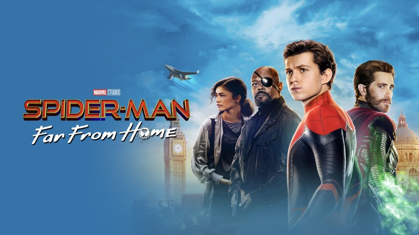 spider man far from home uhd bluray