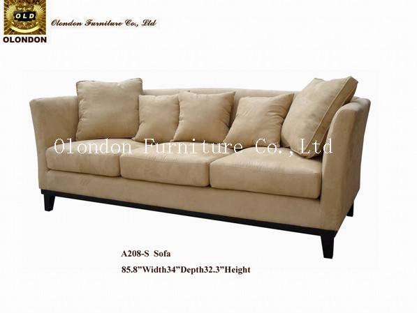 American Casual Three Seater Sofa Classic Living Room Furniture
