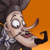 Feed-'Em Fred (The Chef of Dread) interactive storybook (for iPad)
