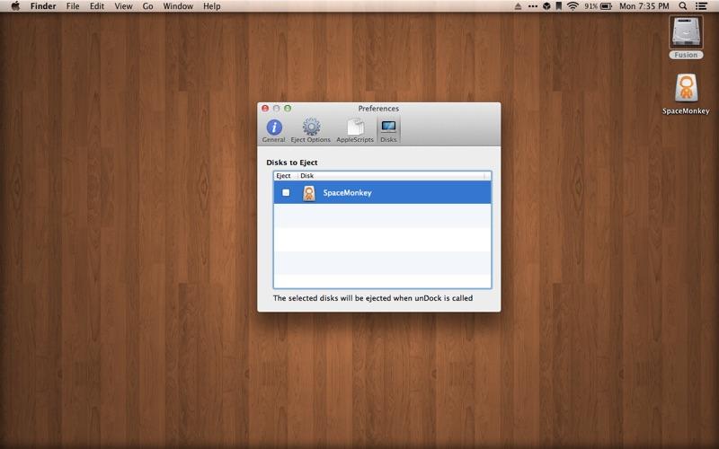 unDock Screenshot