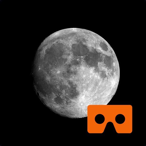 Virtual Reality Moon for Google Cardboard VR