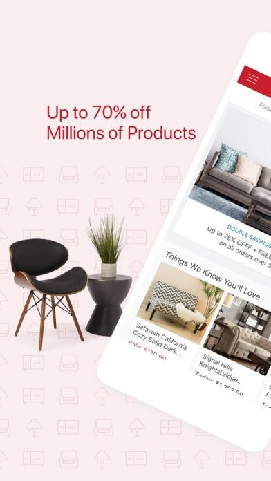 Screenshot do app Overstock.com