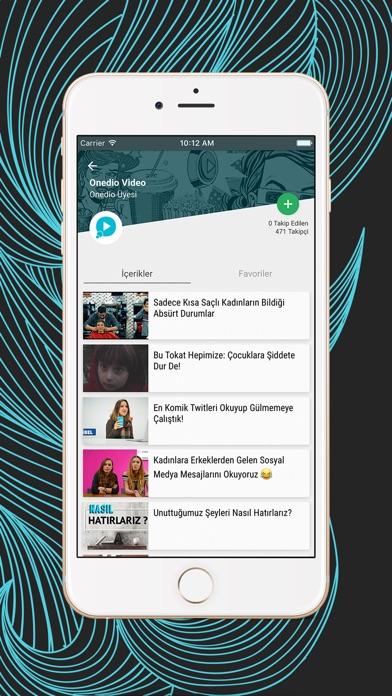 Onedio Screenshot
