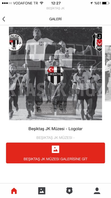 Besiktas JK Screenshot