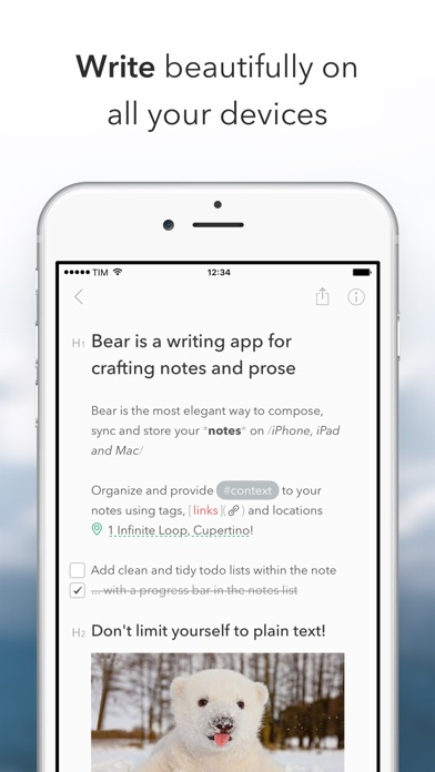 Bear Screenshot